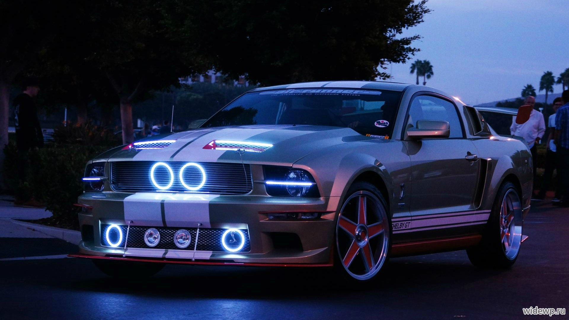 Автомобили Ford Mustang GT Shelby