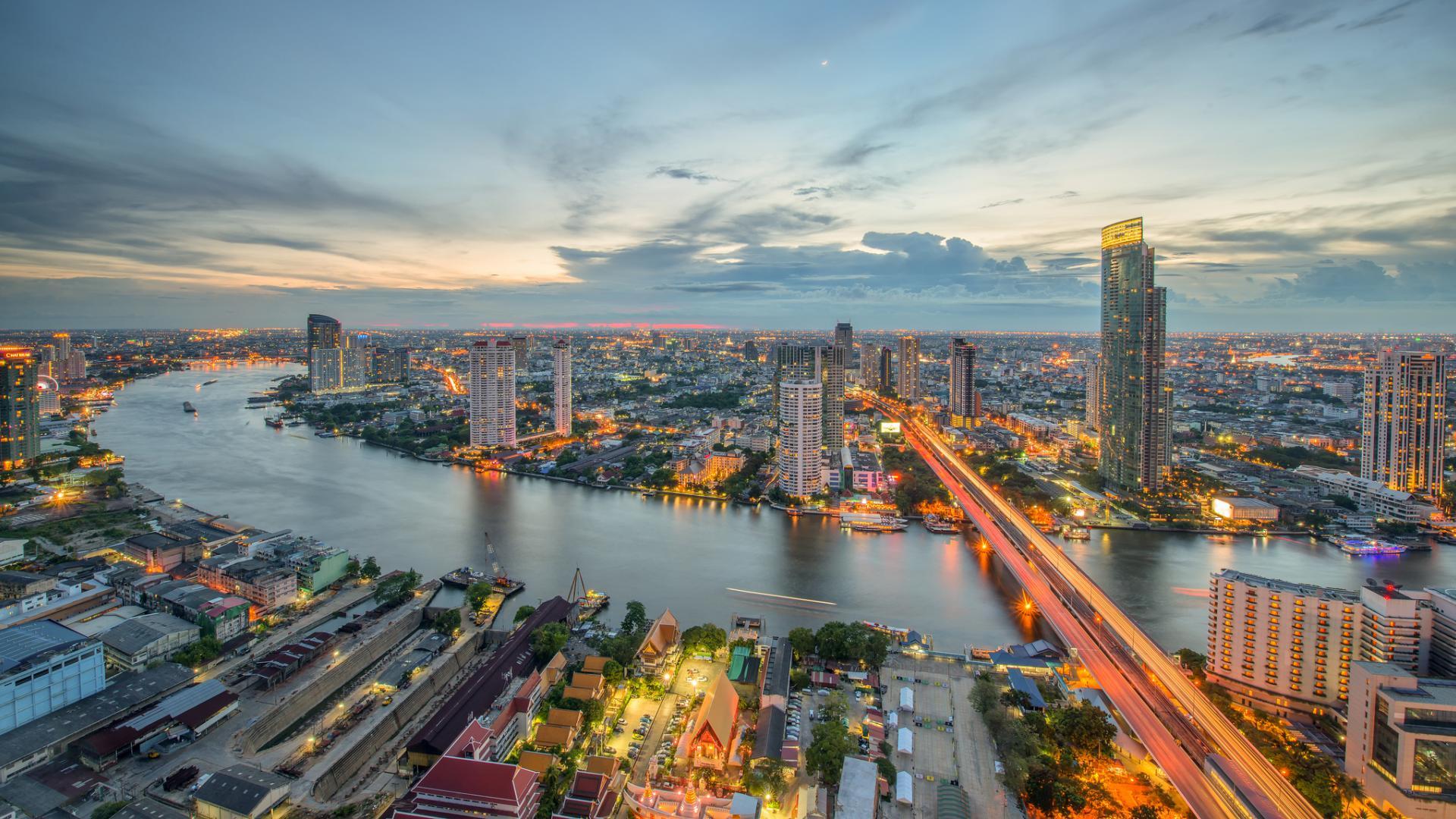 расслабленном состоянии бангкок фото города обои для айфона позволяющий обрезать