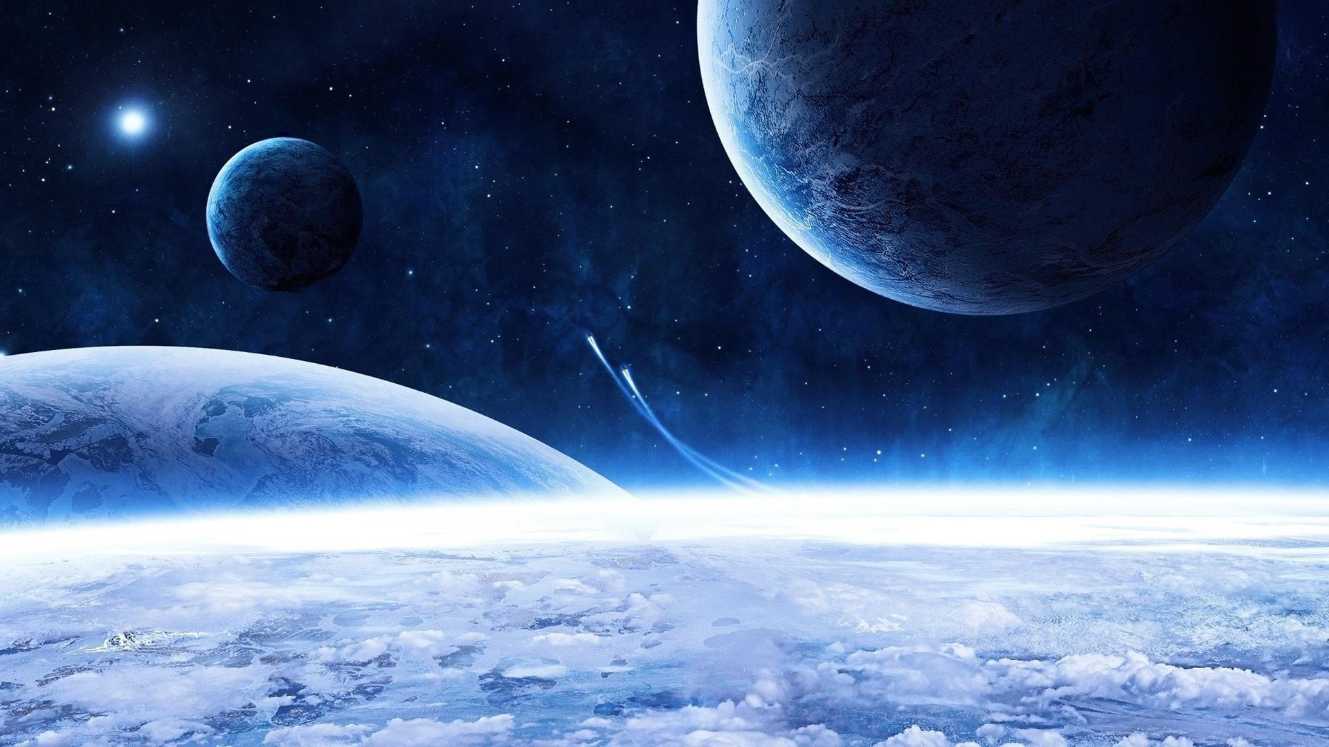 красивые картинки космоса на рабочий зритель